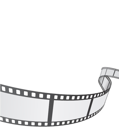 film strip: film reel background design