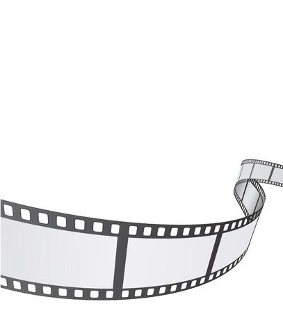 lembo: film reel sfondo di progettazione Vettoriali