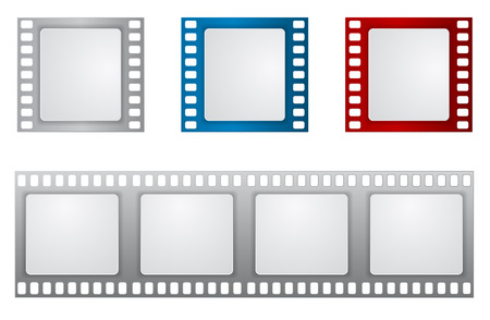 film reel icon background template