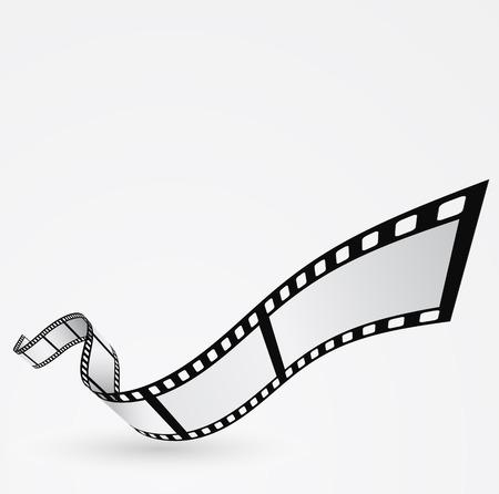 rollo pelicula: rollo de película de diseño en movimiento resumen de antecedentes