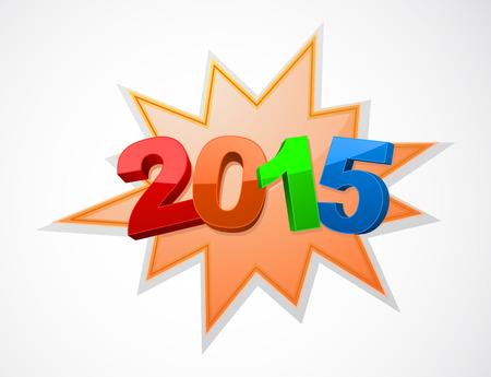 starburst 2015 new year design