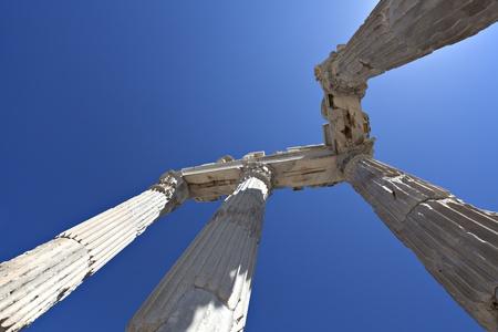Temple of Trajan, Bergama,Izmir, Turkey Stock Photo - 12622575