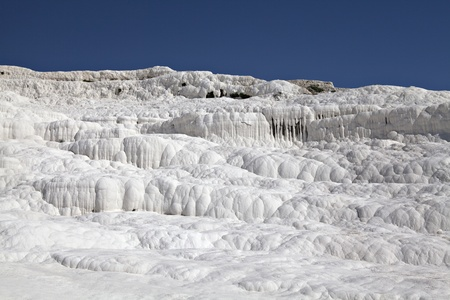 Travertines of Pamukkale, Denizli, Turkey photo