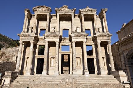 La biblioteca di Celso � un edificio antico di Efeso, Smirne, Turchia