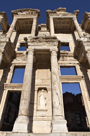 La biblioteca di Celso � un antico palazzo in Efeso, Izmir, Turchia