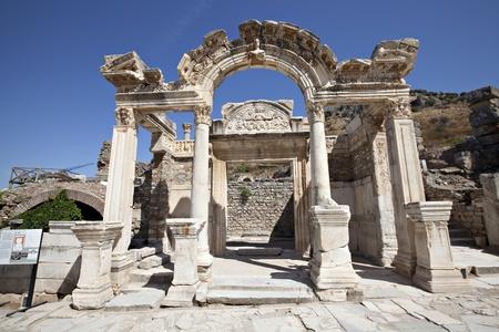Hadrians Temple, Ephesus, Izmir, Turkey photo