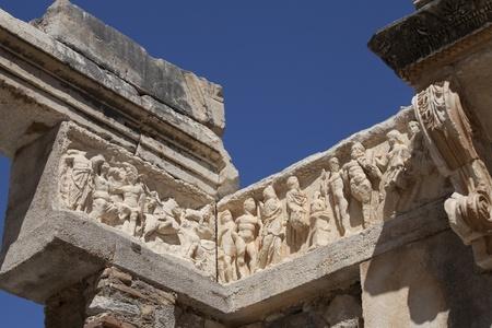 hadrian: Detalle de Adriano del Templo Editorial