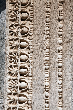 hadrian: Detail view of Hadrian Temple