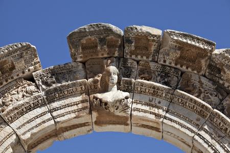 female likeness: Bust of Hadrian