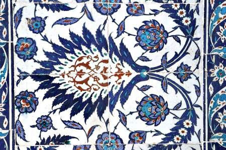 Tile turco, Rustem Pasa Mosque, Istanbul, Turchia