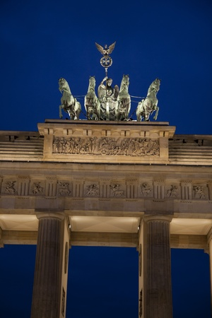 brandenburg gate: Brandenburg Gate at dawn, Berlin, Germany