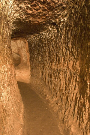 Ozkonak underground city, Nevsehir, Turkey Stock Photo - 12886608
