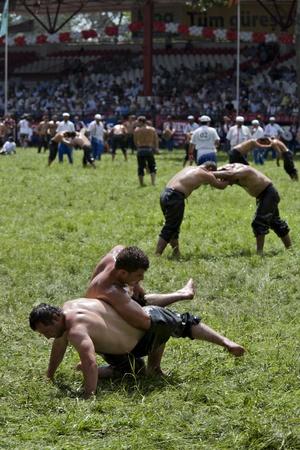 greased: Kirkpinar greased wrestling