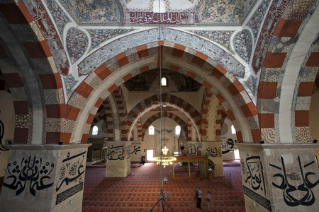 camii: The Old Mosque  In Turkish  Eski Camii  is an early 15th century Ottoman mosque in Edirne, Turkey