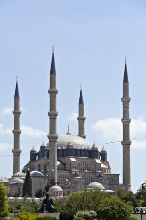 Turkey, Edirne, Selimiye Mosque  Built By Mimar Sinan In 1575 Stock Photo