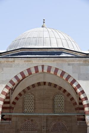 edirne: Architectural detail from Selimiye Mosque, Edirne, Turkey Stock Photo