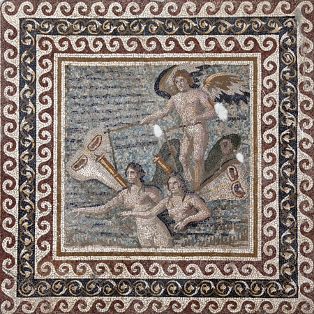 The Boaf of the Psykheler from daphne  Harbiye  3rd Cent  A D