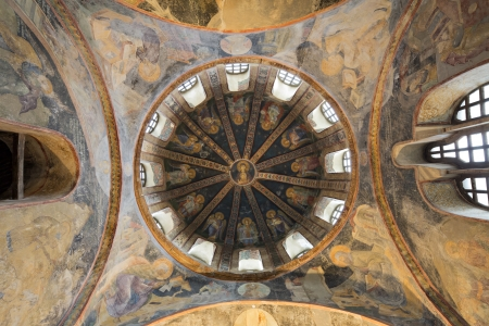 chora: The Church of the Holy Saviour in Chora  Turkish Kariye Müzesi, Kariye Camii, or Kariye Kilisesi — the Chora Museum, Mosque or Church  is considered to be one of the most beautiful surviving examples of a Byzantine church