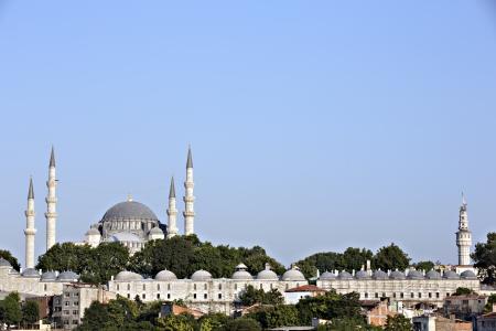 suleymaniye: Suleymaniye Mosque, Istanbul, Turkey