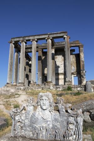 zeus: Zeus Temple, Aizanoi, Cavdarhisar, Kutahya, Turkey