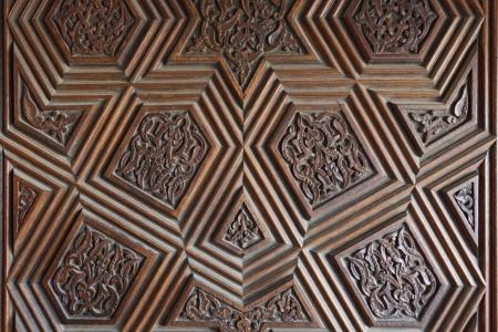 Door patterns of Grand Mosque in Bursa, Turkey Stock Photo - 15291696