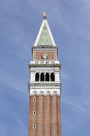 campanile: St Marks Campanile is the bell tower of St Marks Basilica in Venice, Italy