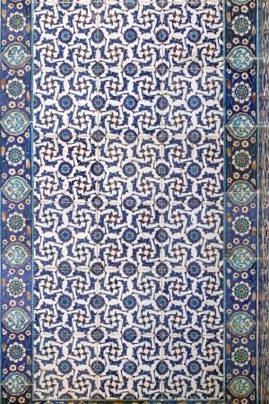 Décoration carrelage mural de Rustem Pasha Mosque, Istanbul, Turquie