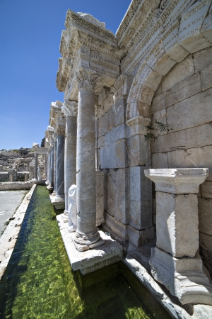 pius:  Antoninus Fountain of Sagalassos in Isparta, Turkey