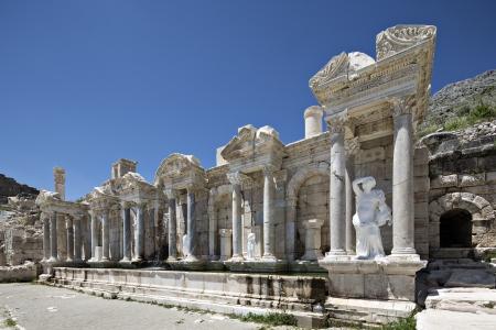 Antonino Fontana di Sagalassos a Isparta, Turchia
