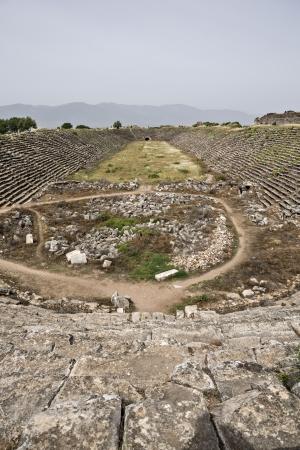 Stadio di Afrodisia, Aydin, Turchia Archivio Fotografico