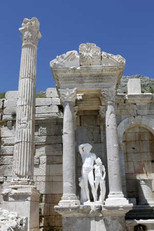 pius:  Antoninus Fountain of Sagalassos in Isparta, Turkey.