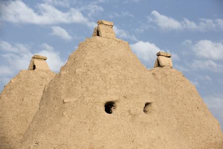 mesopotamian: The Harran Houses, Sanliurfa, Turkey.