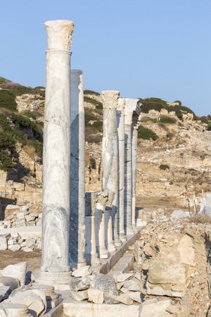 mugla: Ruins of Knidos, Mugla Turkey.