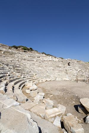 Amphitheate di Knidos; Datca, Mugla, Turchia.