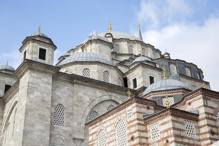turkey: Fatih Mosque in district of Istanbul, Turkey.