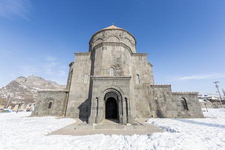 Merkez Kumbet Mosque (The Church of 12 Apostles) in Kars, Turkey.