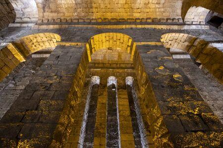 Prison of Dara Ancient City in Mardin, Turkey. Stock Photo