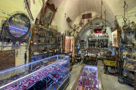 Arasa covered bazaar in Mardin, Turkey.