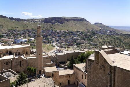Cityscape of old Mardin, Turkey