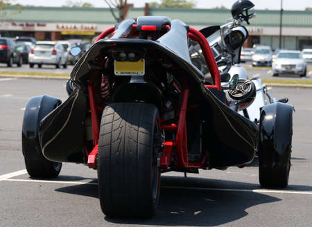three wheeler: Three Wheel Motorcycle
