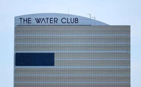 ATLANTIC CITY. NJ USA JUNE 26, 2016 The water Club Hotel in Atlantic City, NJ.