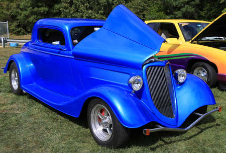rebuilt: MAYS LANDING, NEW JERSEY SEPTEMBER 30, 2017  Classic Car at Show Editorial