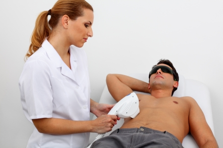 laser hair removal  Stock Photo - 11910905