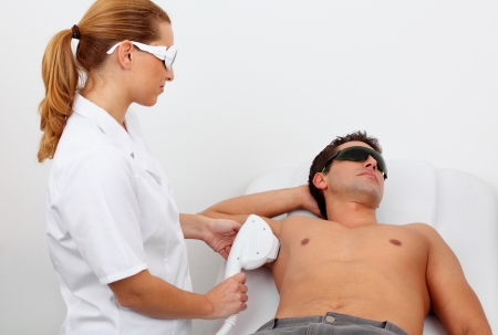 laser hair removal Stock Photo - 11910906