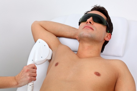 adult armpit: laser hair removal