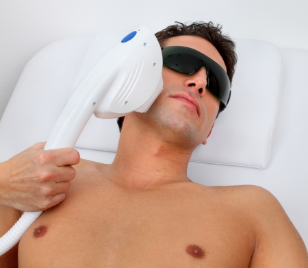 laser hair removal Stock Photo - 11910891