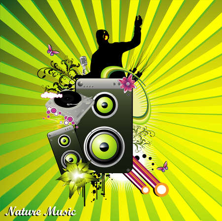music vector illustration Vector