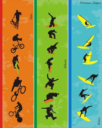 adrenalina: composici�n de formas extremas de vectores