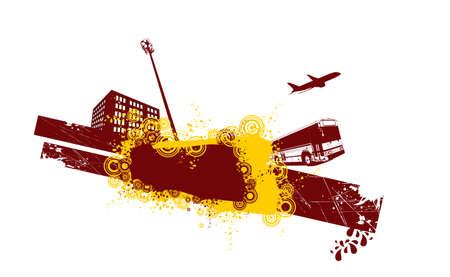 city vector composition Stock Vector - 3443515