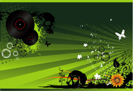 music vector composition Vector